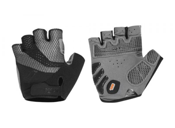 Cyklistické rukavice KTM Factory Line black (grey)