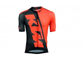 Cyklistický dres KTM Factory Team Race Light Orange/black