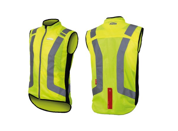 Reflexní vesta KTM Safety Jacket team Reflex Yellow