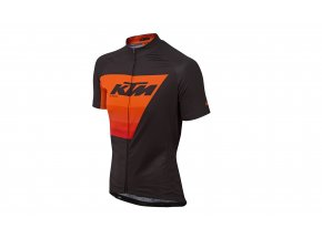 Cyklistický dres KTM Factory Line 2019 Black/orange
