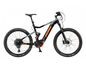 Elektrokolo KTM MACINA LYCAN 274 12 PT-CX5I4 2019 Black matt (grey+orange)