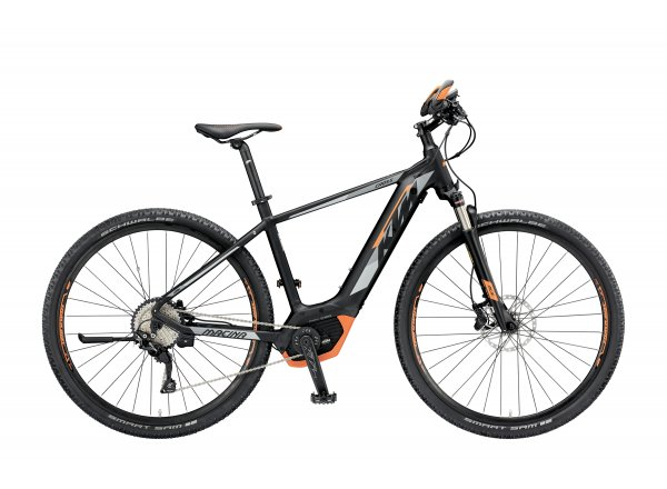 Elektrokolo KTM MACINA CROSS 10 PT-CX5I4 2019 Black matt (grey+orange)