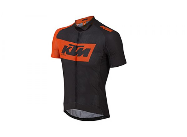 Cyklistický dres KTM Factory Team Light 2019 Black/orange