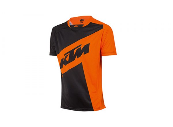 Cyklistický dres KTM Factory ENDURO 2019 Black/orange