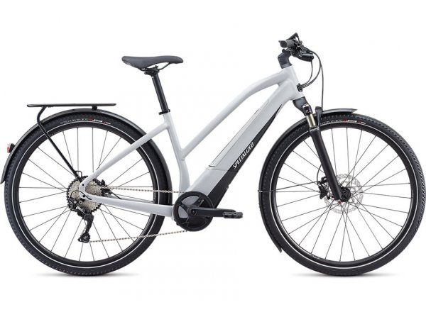 Elektrokolo SPECIALIZED TURBO VADO 4.0 Step-Through 28 500Wh 2020 Dove Grey / Black / Liquid Silver
