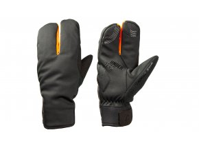 Cyklistické rukavice KTM Team Mitten Winter 2021 Black