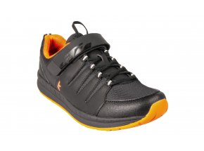Cyklistické tretry KTM Factory Character Fitness Black/orange