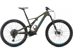 Elektrokolo SPECIALIZED Turbo Levo SL Expert Carbon 2021 Oak Green / Aqua