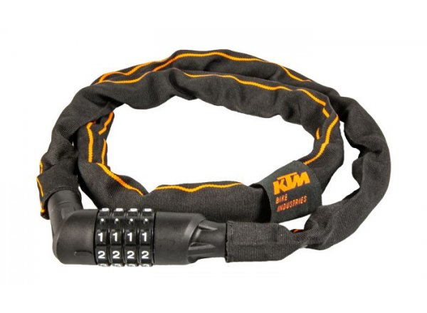 Zámek KTM Chain Lock Code Black/orange