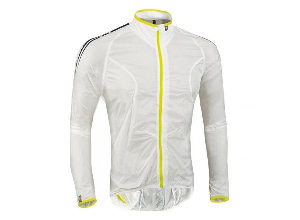Cyklistická bunda SPECIALIZED DEFLECT COMP WINDJACKET White