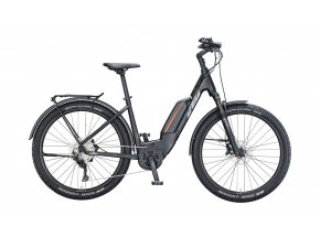 Elektrokolo KTM MACINA AERA P272 LFC 625Wh 2021 black matt (grey+orange)