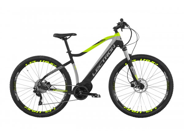 Elektrokolo LECTRON ESCONDER MX 630Wh 2021 Black/grey/lime