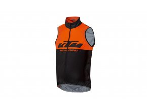 Cyklistická vesta KTM Factory Team 2021 Black/orange